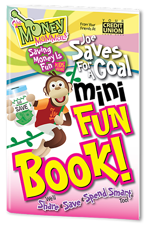 Mini Fun Book - Joe Saves for a Goal Image