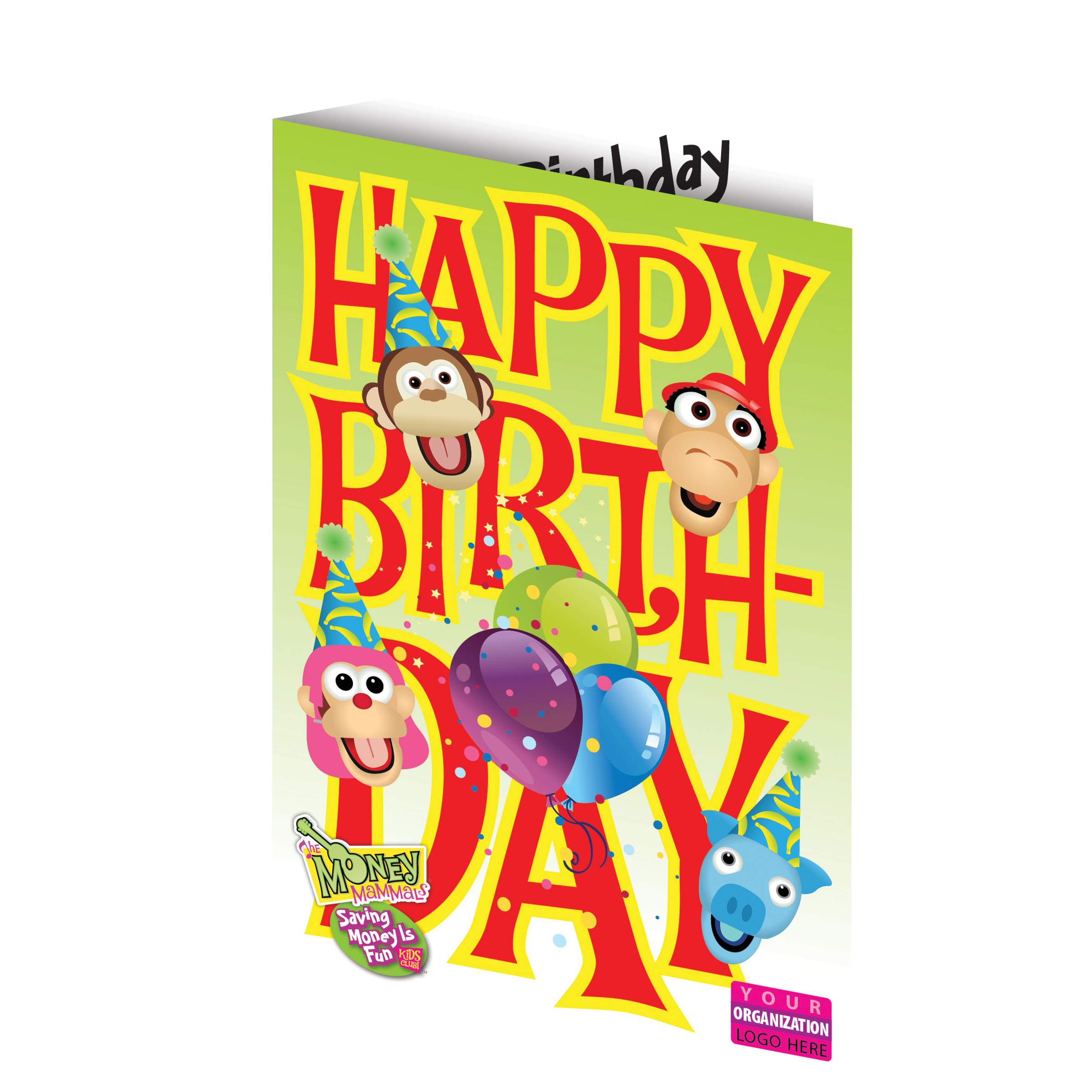 Birthday Card With Envelope Image